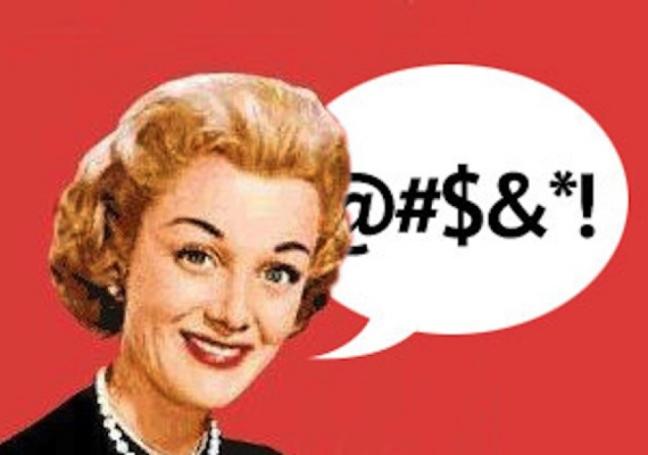 swearing and language