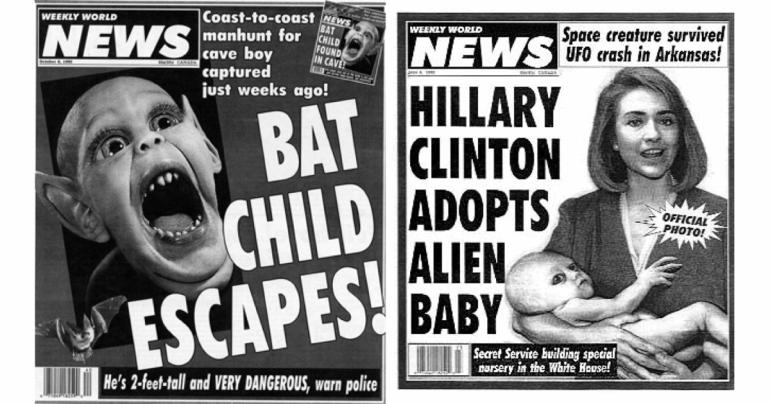 fake news hillary clinton social media