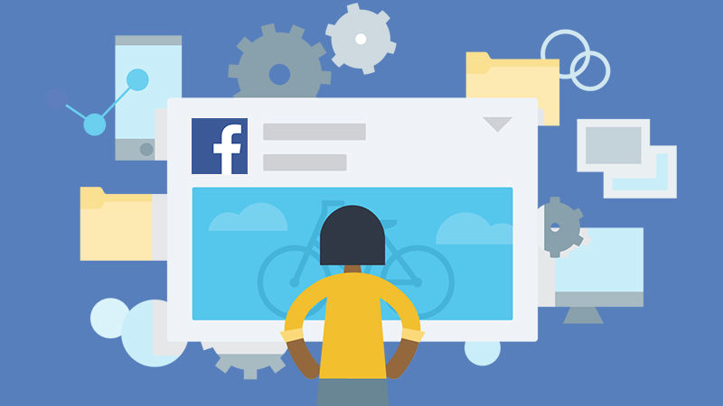 using facebook less and less