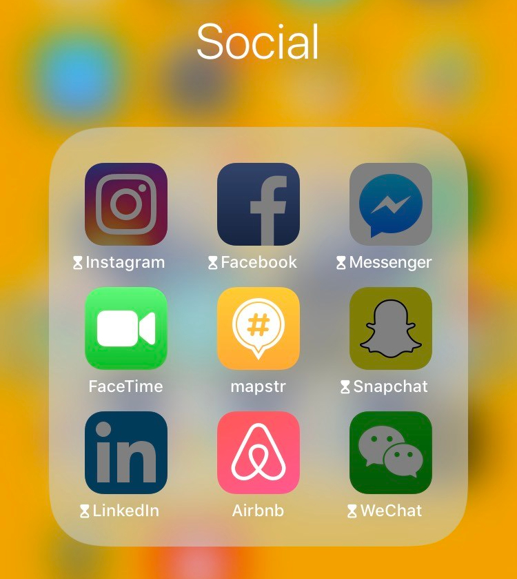 social media screen time apps