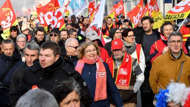 greve france 2019